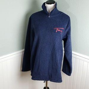 Tommy Hilfiger Vintage Logo Fleece Pullover
